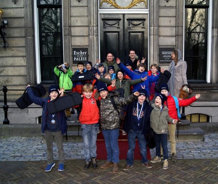 Schoolschaken in Den Haag!