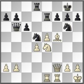Botvinnik-Keres, na 23.Pe4
